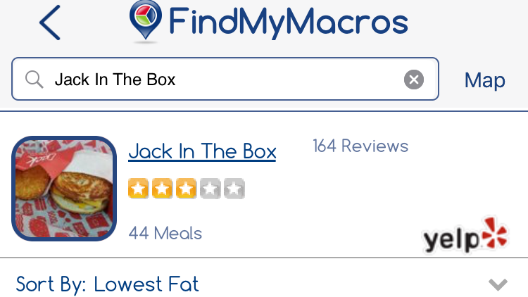 FindMyMacros Finds Nearby Restaurants That Fit Your Eating Plan