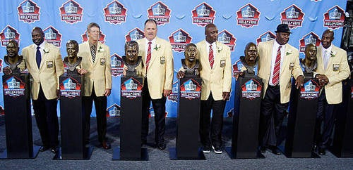 The NFL's Hall Of Fame Enshrinement Speeches, AutoSummarized