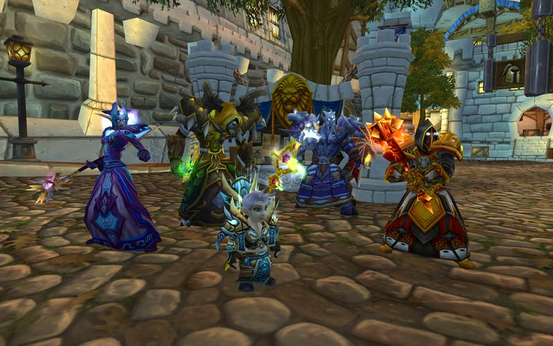 World of Warcraft' Transmogrification in Action