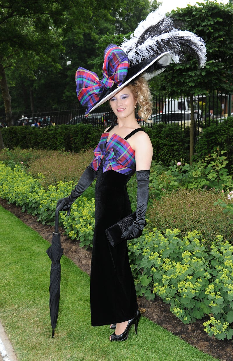British People Wearing Bonkers Headgear: An Explanation of Ladies Day