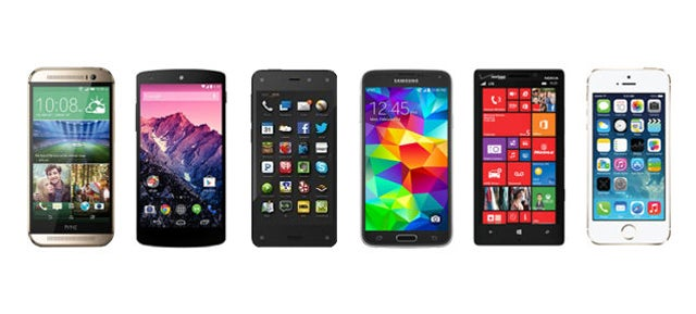 How Amazon's Fire Phone Compares to Its Toughest Competition