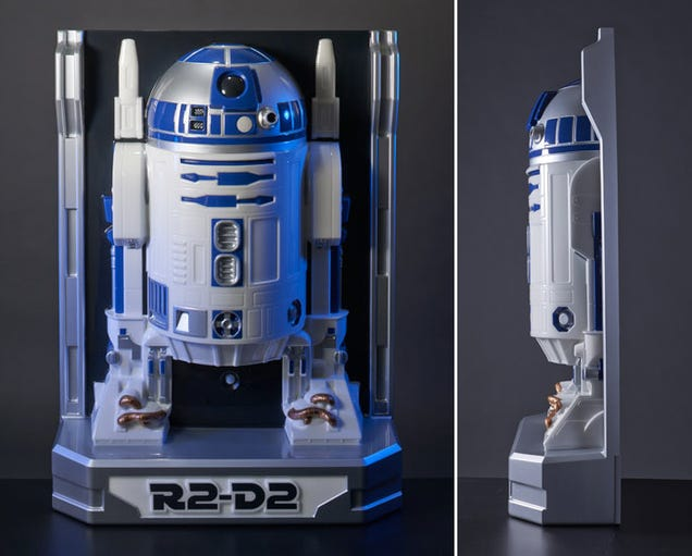 This Life-Size Wall-Hugging Figure Is Actually Only Half an R2-D2