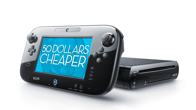 Wii U Price Drops $50 Effective September 20