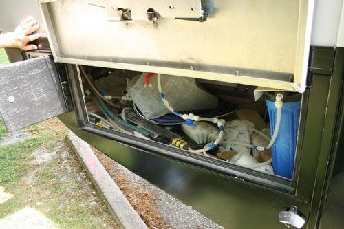 EcoRoamer Expedition Vehicle: Life Systems Photos