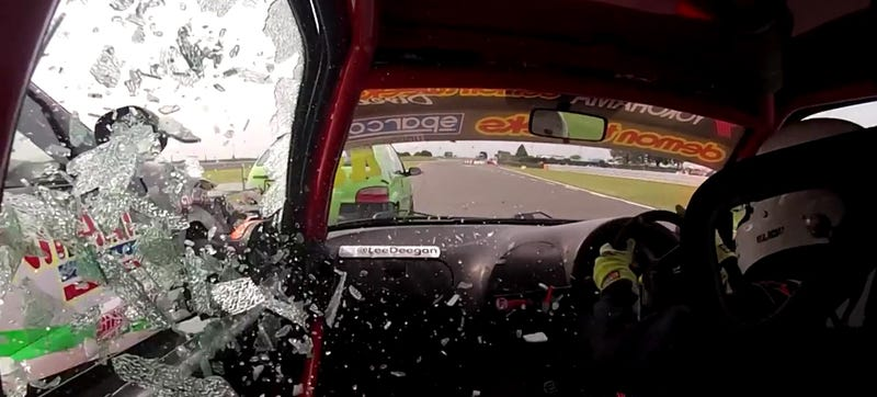 Tiny Stock Hatchback Racing Is For Motherflippin' Real