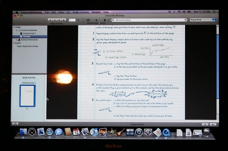 Livescribe Pulse Smartpen is Finally Mac Compatible