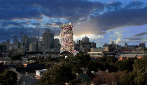 Tower Skins Modernise Ugly Buildings, Generate Energy and Collect Rain Water