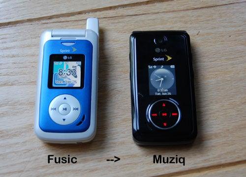 Sprint Debuts Muziq by LG (Fusic Killer, not iPhone Killer)