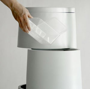 Tri3 Trash Can Recycles Your Waste Stylishly