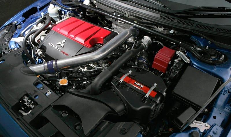 Mitsubishi FQ400 Joins Evolution X Lineup, Galant Feels Ignored