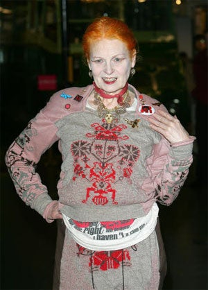 "Formerly Punk & Currently Quirky Vivienne Westwood: ""Why Don't People Tear Their Own Clothes?"""