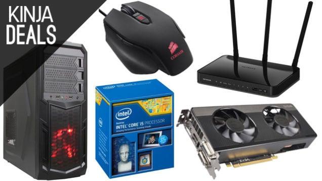 Deals: PSN Play 2014, Humble Square-Enix Bundle, PC Parts Gold Box