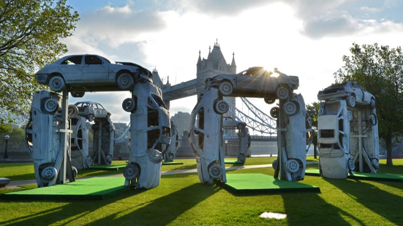 This Is Another Stonehenge Replica Built Out Of Cars