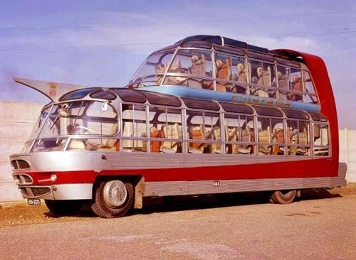 Citroen U55 Cityrama Currus: From Flash Gordon's Future