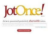 JotOnce Is a Password Protected Web-Based Scratch Pad