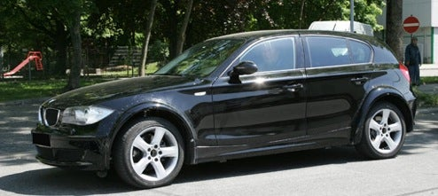 2011 BMW 1-Series Hatch Test Mule