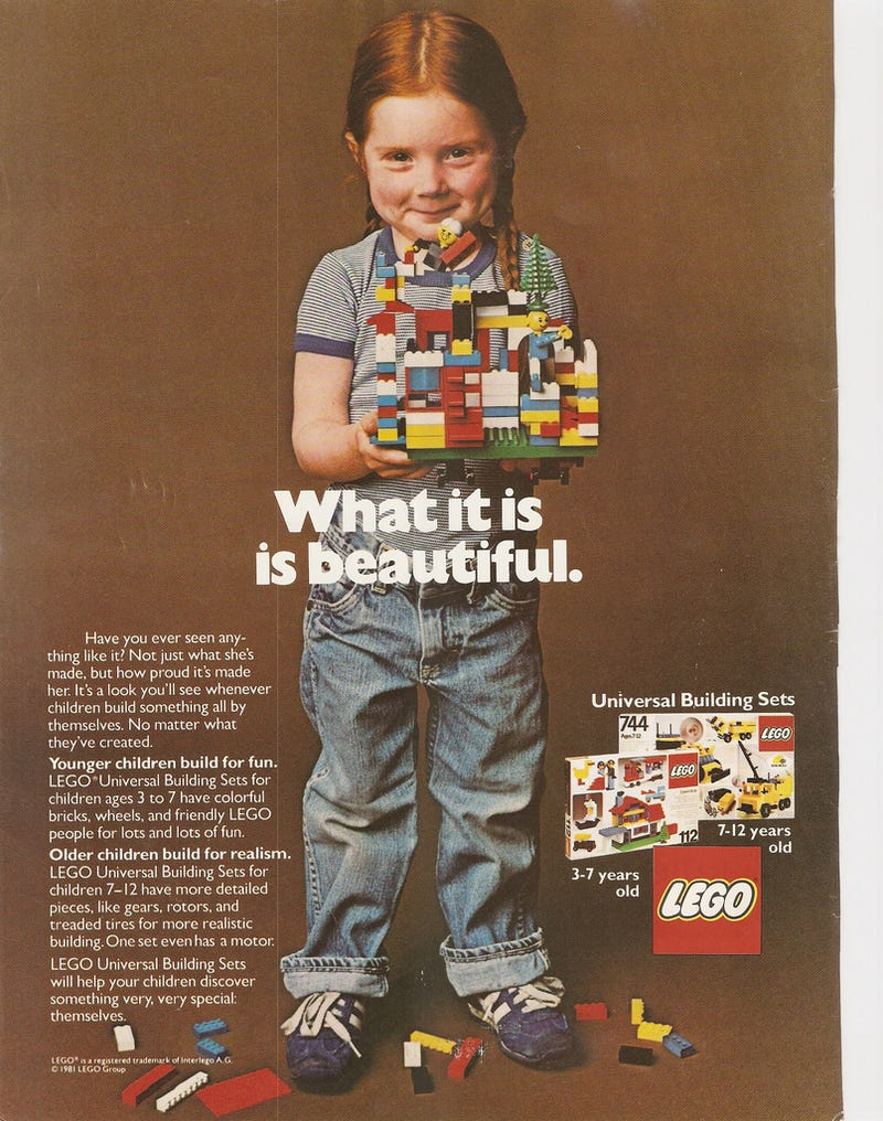 The Lego Girl Who Melted My Heart—and Will Melt Yours