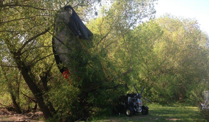 Experimental Flying Car Crashes Near Canadian School