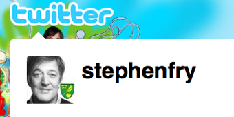 Stephen Fry Names Most Beautiful Twitter Post