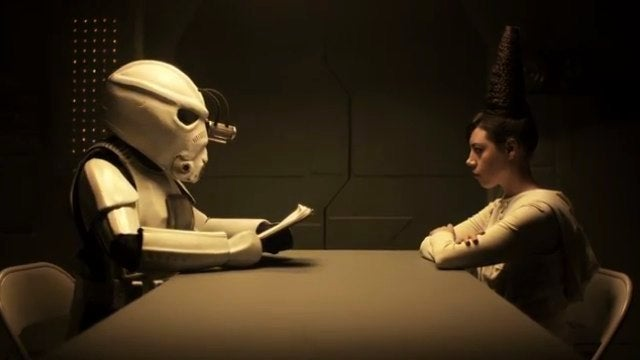 Troopers takes you inside the life of a Death Star Stormtrooper