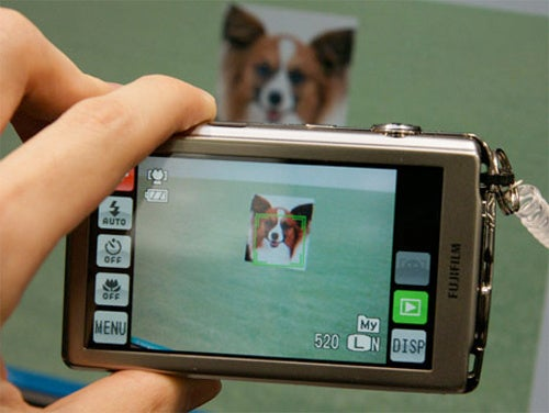 FujiFilm Finepix Z700 Point-and-Shoot Offers Pet Detection