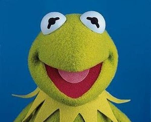 Buzz Looks More And More Like Kermit The Frog