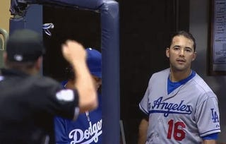 Hold Andre Ethier Back, Bro, Before He Stares Some More