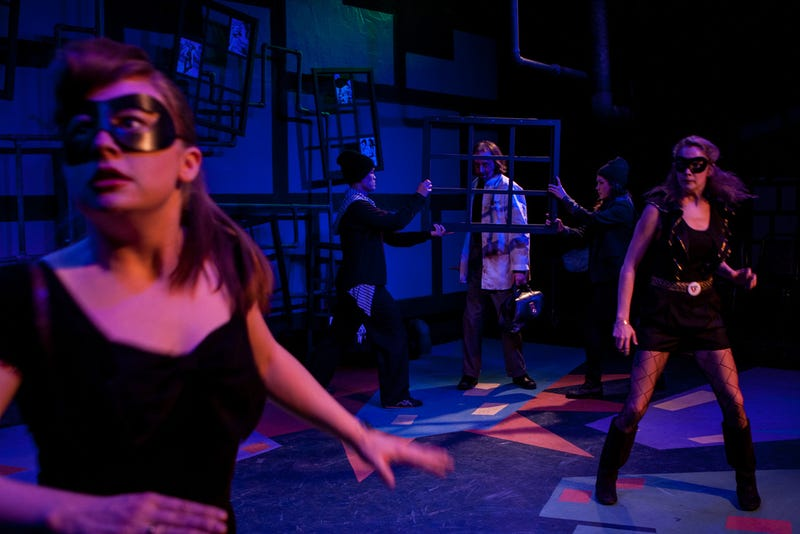 "In the play ""Hearts like Fists,"" Watchmen meets Charlie's Angels"