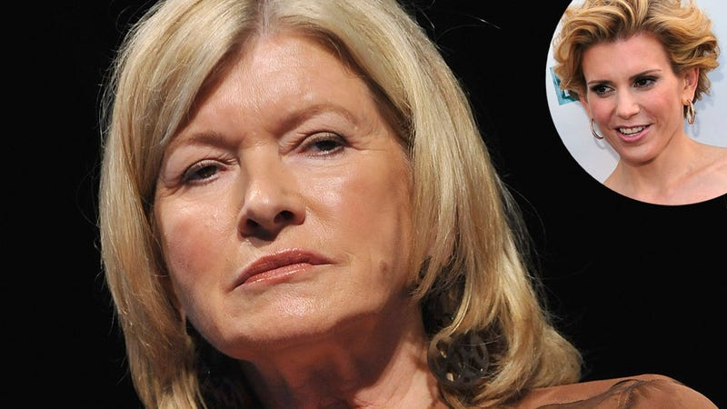 Martha Stewart Caught Peeing with Door Open