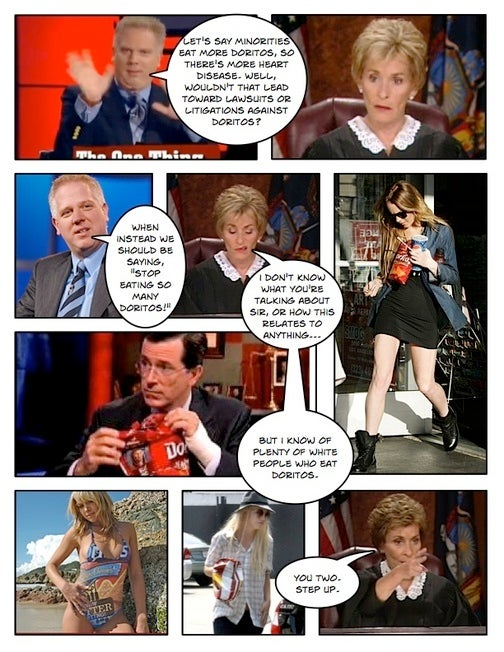 Comic Confrontations: Judge Judy Vs. Glenn Beck