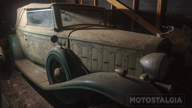 staggering texas barn find could contain up to