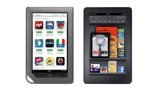 Nook Tablet vs. Kindle Fire: The Differences Add Up