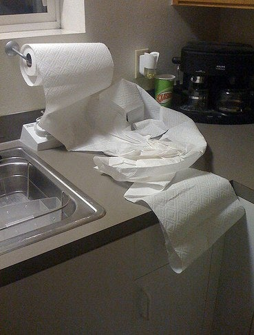 Ditch Paper Towels for Cloth, Save Money