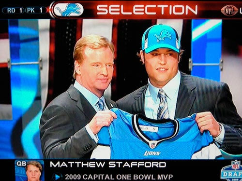 Stafford Welcomed To Detroit With Warm, Prickly Arms