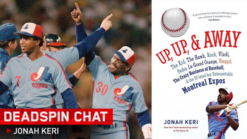 I'm Jonah Keri, World Authority On The Expos. Any Questions For Me?