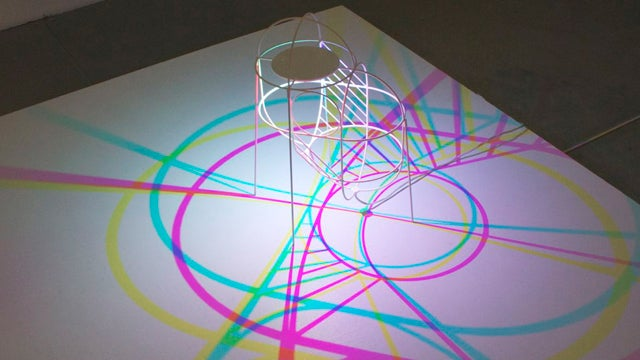 Make CMYK Shadow Puppets with This LED Lamp