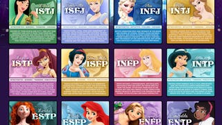 Which Myers-Briggs Disney Princess Are You?