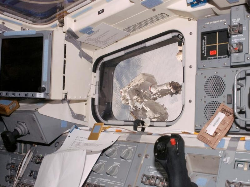 Astronauts Have Done So, So Much With Duct Tape And Electrical Tape