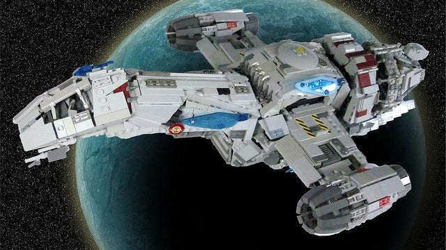 Serenity LEGO set is now a reality