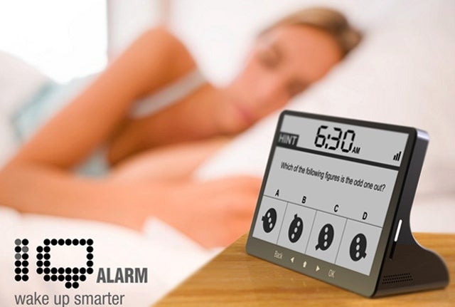 How Hard Would You Punch an Alarm Clock That Made You Solve Puzzles?