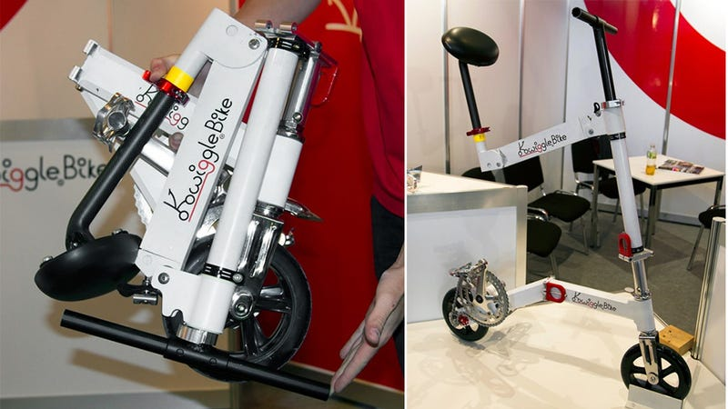The World's Smallest Folding Bike Can Fit Inside Carry-On Luggage