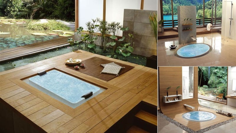 These Beautiful Overflowing Baths Are Soak Sanctuaries