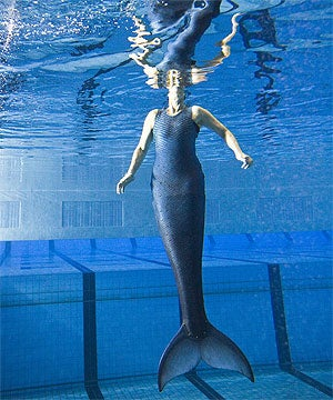 Double-Amputee Wants to Be Part of Ariel's World with Her Prosthetic Mermaid Tail