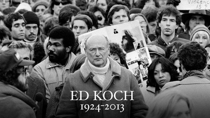 Ed Koch Is Dead