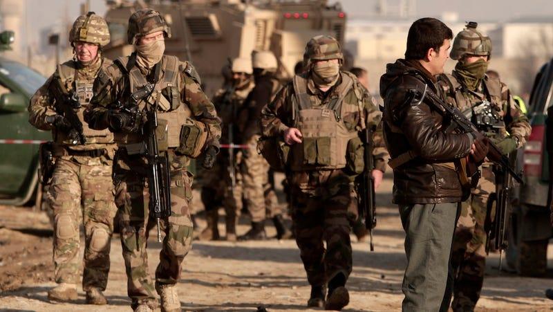 Friendly Fire Strike Kills 5 U.S. Soldiers in Afghanistan
