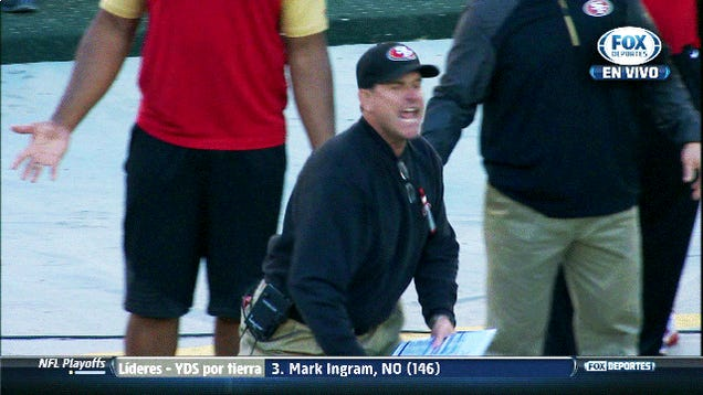 Jim Harbaugh, Spinning Endlessly
