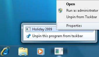 Pin Individual Folders to the Windows 7 Taskbar