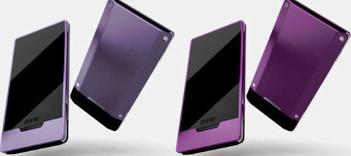 Psst...Zune HD Now Available in Purple and Magenta