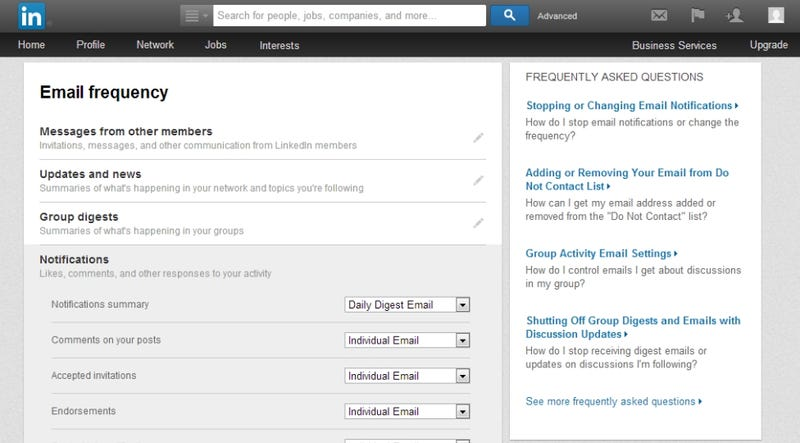Unsubscribe from All LinkedIn Emails with This Simple Bookmarklet
