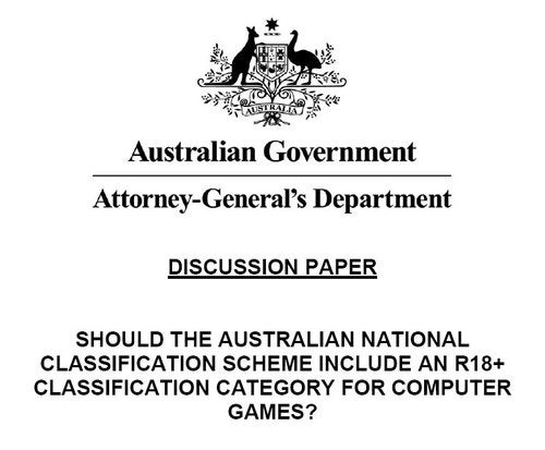 Australian Government Consulting Public On Changes To Game Ratings
